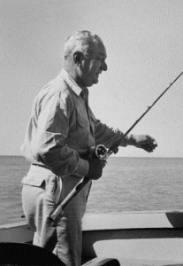 An avid outdoorsman, Halleck found plenty of time for fishing in retirement
